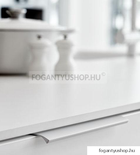Furnipart - Edge Straight - Alumínium - Bútorajtó élére ültethető fém fogantyú